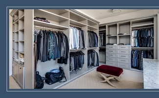 Custom Built Closet Shelves and Design