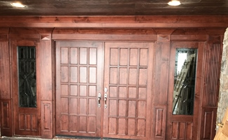 Very Custom Entry Door