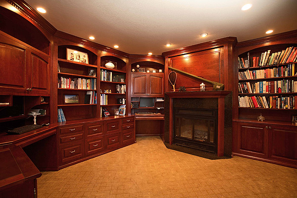 Home office custom remodel